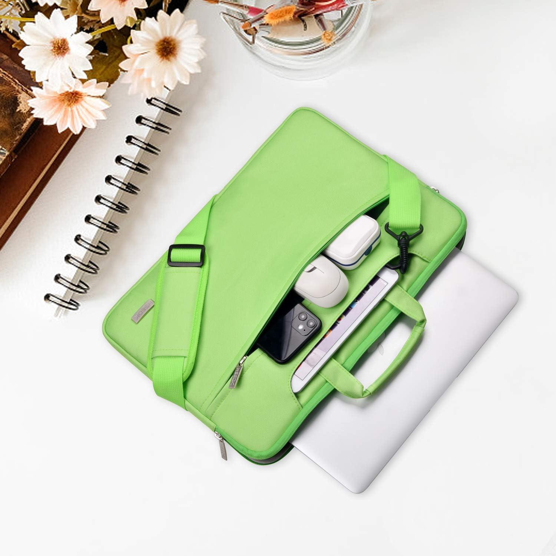 HSEOK Borsa a Tracolla per Notebook Borsa Porta Laptop Super Sottile e Impermeabile Grigio Fino a 17-17,3 Pollici