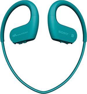 Sony NW-WS623 4 GB Waterproof Walkman MP3 Player with Bluetooth - Blue