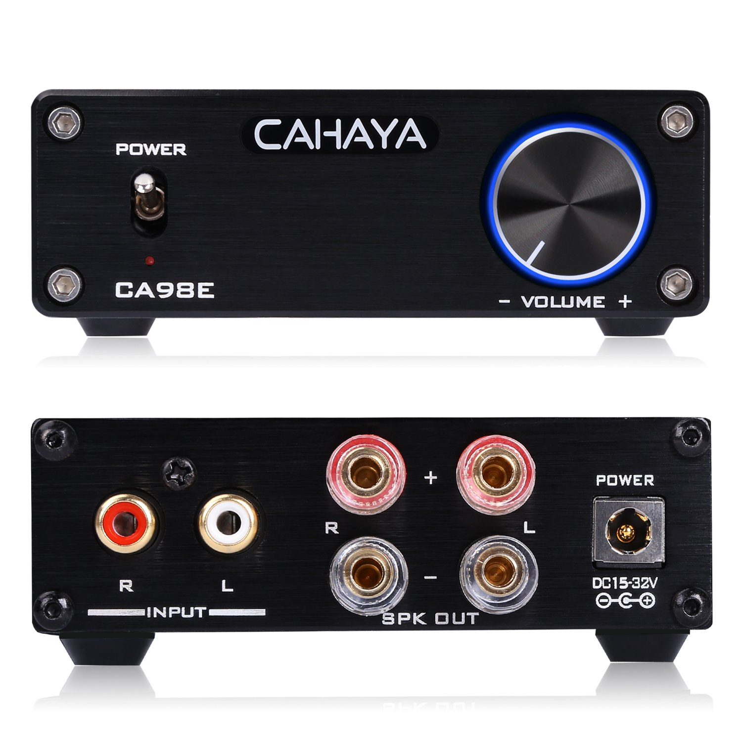 CAHAYA Sound Mixer Digital Audio Sound Echo Mixer with Dual Channel of Microphone for Smart Phone PC and Amplifier CA-CY0046