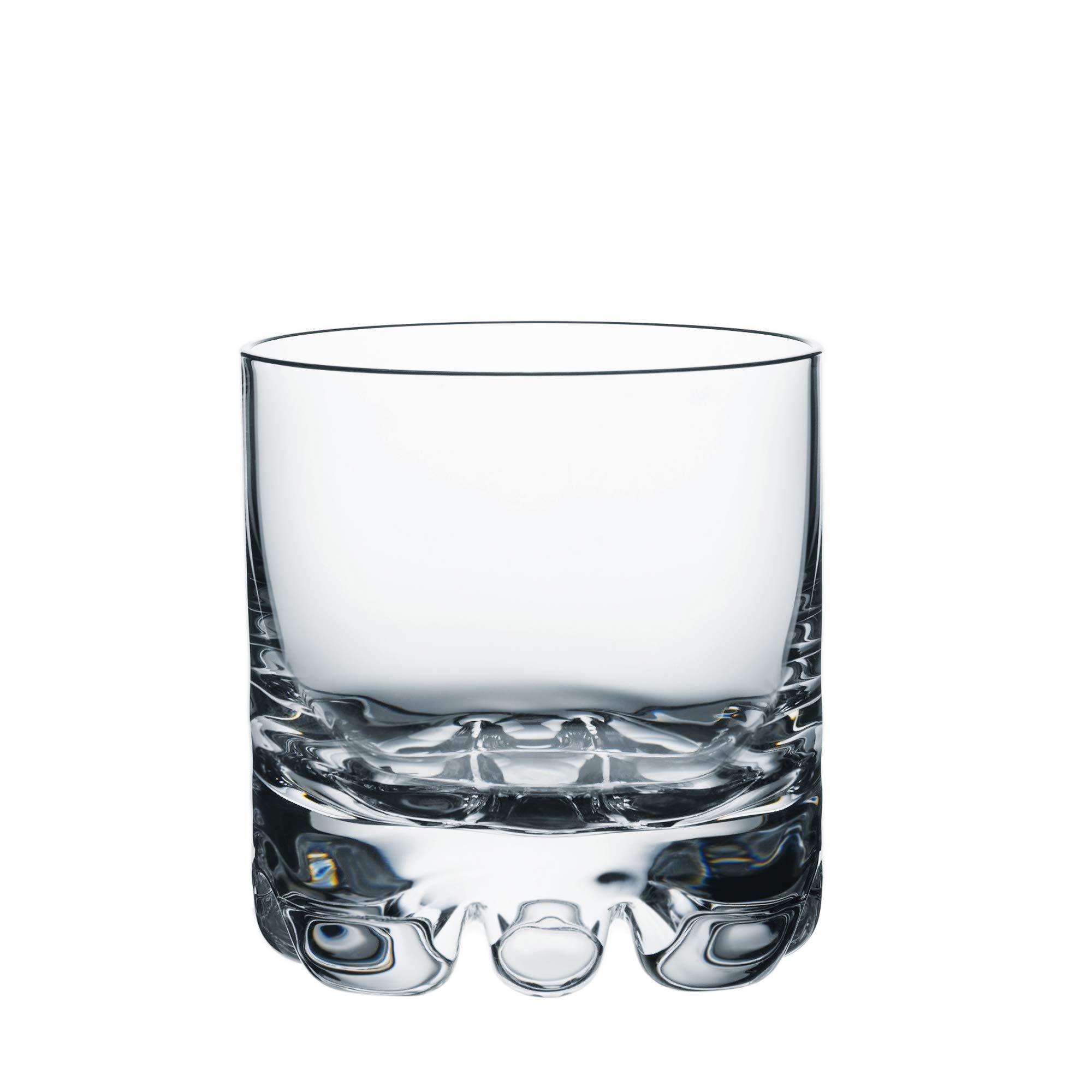 Orrefors Erik 12 Ounce DOF Glass, Set of 4