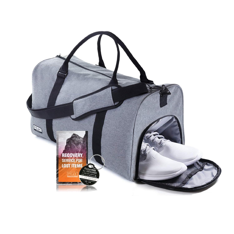 90aa3865c0 Amazon.com | The Weekender Duffel Bag - Travel Bag/Duffle Bag - Lifetime  Lost & Found ID | Sports Duffels