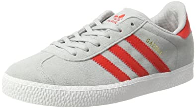 buy popular c2177 482fc adidas Gazelle J, Baskets Mixte Enfant, Grau (Clear Onix), 36 EU