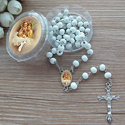Handmade White Wedding Christening Guardian Angel Charms Pack Of 30