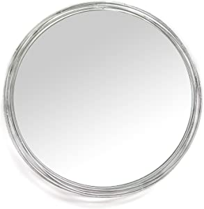 Stratton Home Decor Jocelyn Wall Mirror, 29.50 W X 2.50 D X 29.50 H, Silver