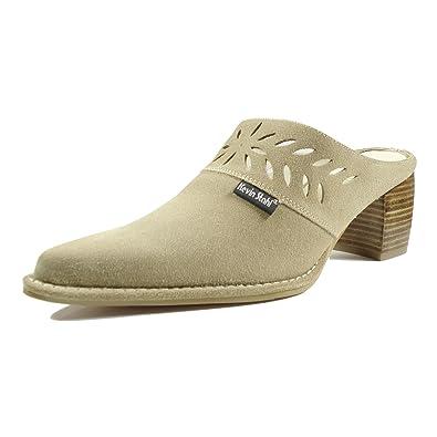 Kevin Stahl 31448-105 Damen Schuhe Premium Qualität Western Clog Weiß (weiss) [EU 36.0] 7oh60HmdO