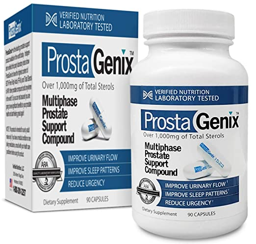 ProstaGenix Multiphase Prostate Supplement-Featured on Larry King  Investigative TV Show as Top