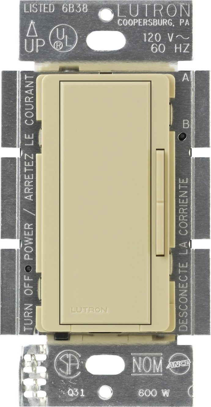 Lutron Ma R Iv Maestro Companion Dimmer Ivory Wall 600 Wiring Diagram 3 Way Switches