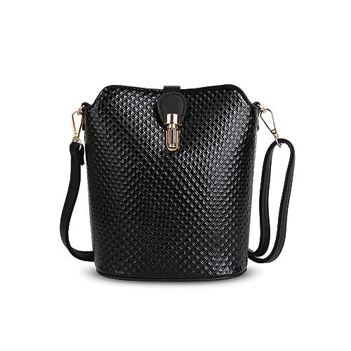 eaa2636d160 Ladies Metallic Holographic Shoulder Bag - Women's Clasp Cross-body Saddle  Handbag G8203A (Small