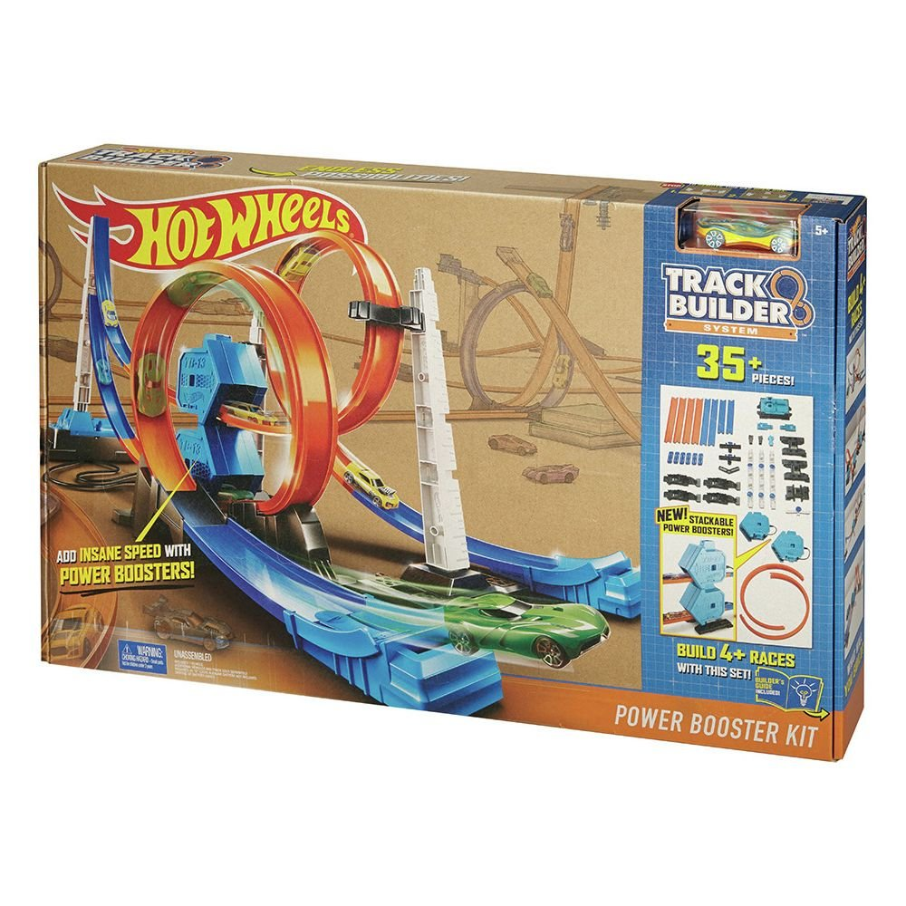 Hot Wheels Track Builder Race Kit
