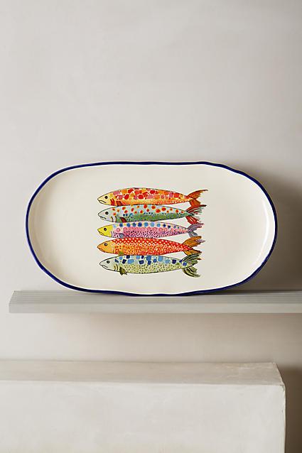 Sardina Small Platter - anthropologie.com