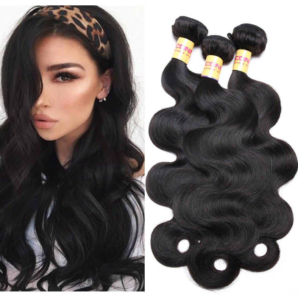 Amazon Connie 8a Brazilian Virgin Hair 4 Bundles 14 16 18 20