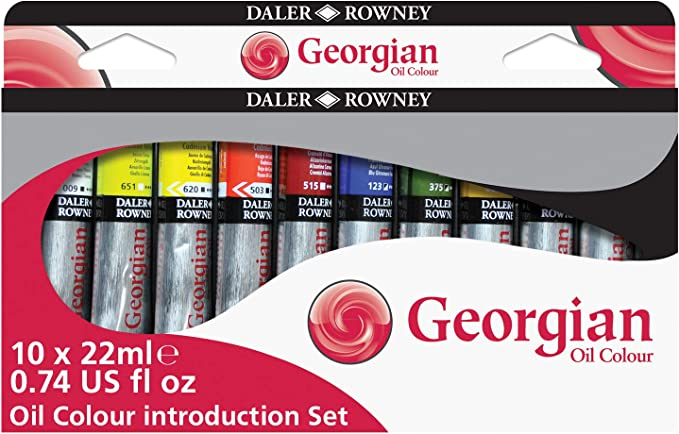 Georgian Col.Óleo Introduction Set 10X 22Ml