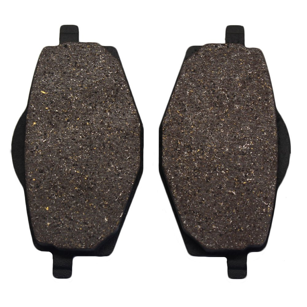Cyleto Front and Rear Brake Pads for Yamaha DT125 1988-2004 YTZ250 TRI-Z 1985 1986