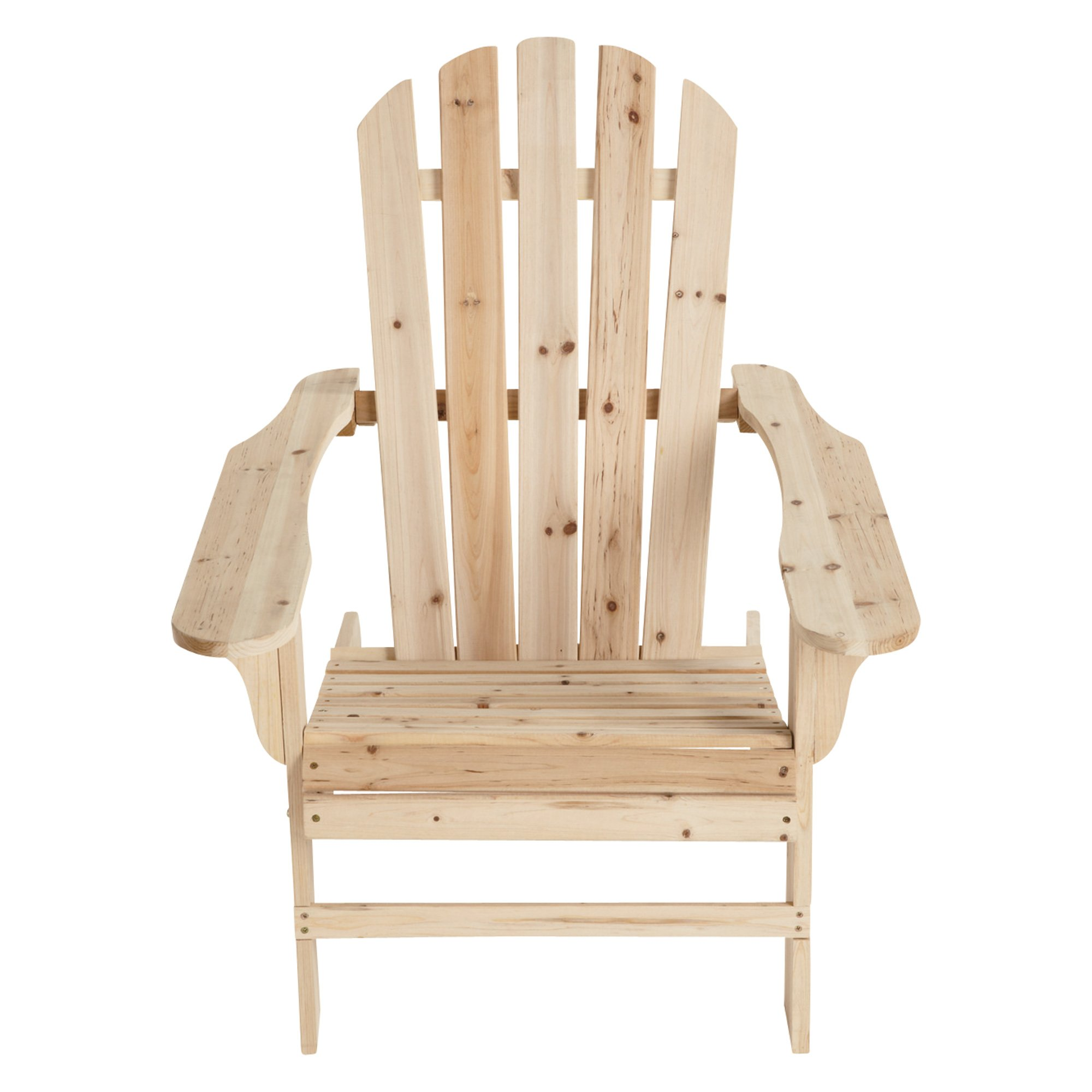 Cedar/Fir Adirondack Chair - 35 3/4in.L x 30 1/2in.W x 35 1/2in.H, Model# CS-001KD