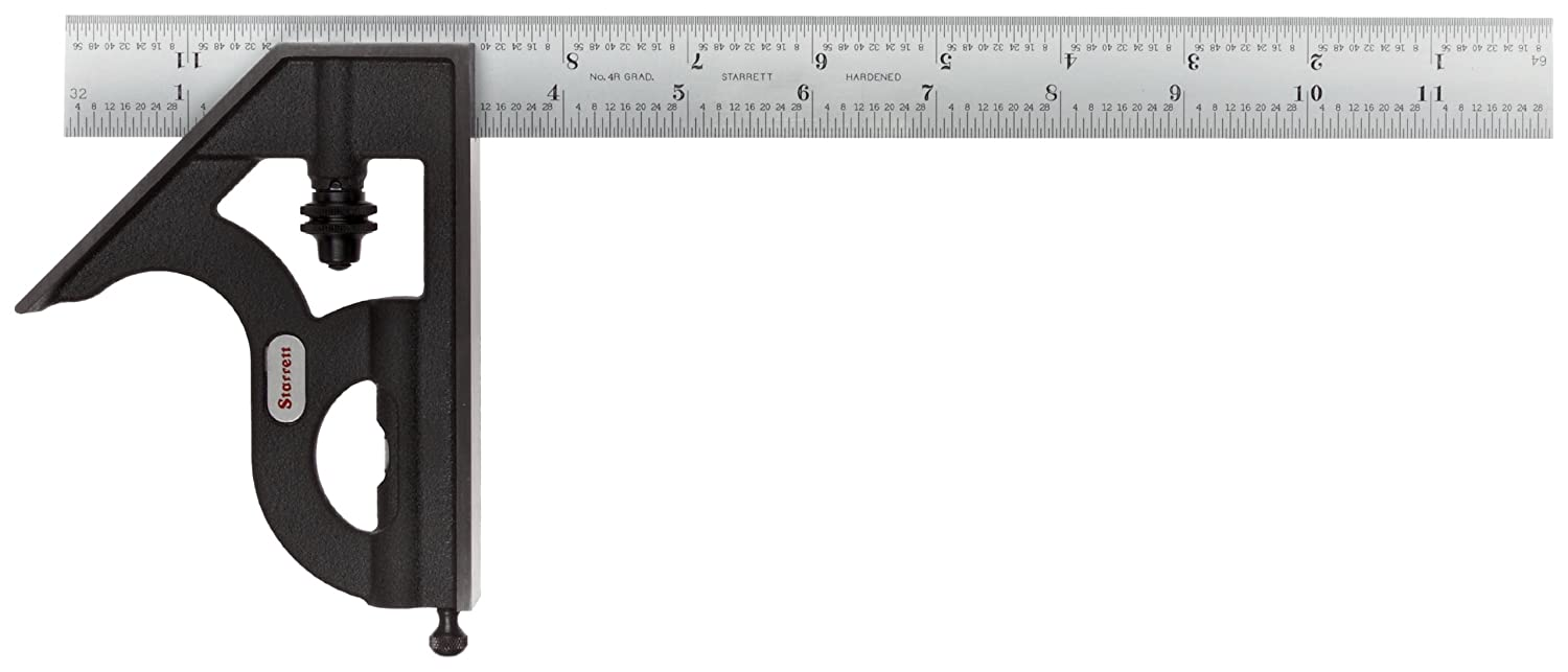 Starrett C11H-12-4RW All stores are sold SLC Cast Sales of SALE items from new works Iron Chrome Head Square With Satin