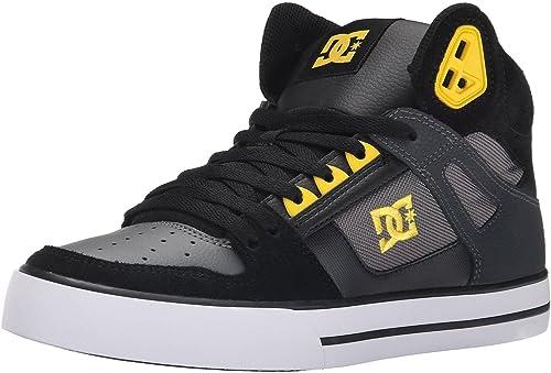 DC Spartan Hi WC Black Yellow Mens