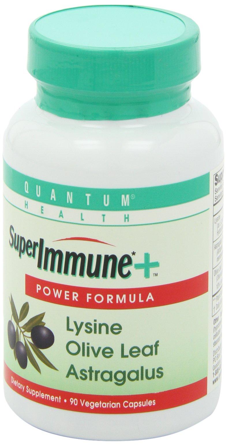 Quantum Health, Super Immune Vegetarian Capsule,  90-Count Packages (Pack of 2)