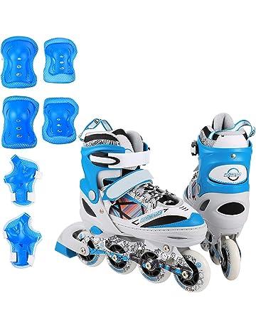 ANCHEER Inline Skates Adjustable Women Men Kids Roller Skates for Girls Boys  Size 12-8 db72d25cf5
