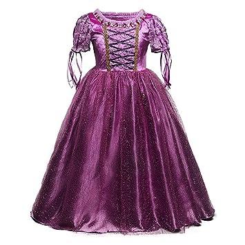 QSEFT- Vestidos de Cenicienta para Niñas 4f9ee6f87f1
