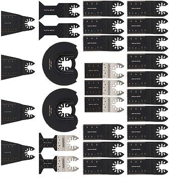 20tlg Fein Multimaster Sägeblätter Zubehör Multifunktionswerkzeug Für Metall DE