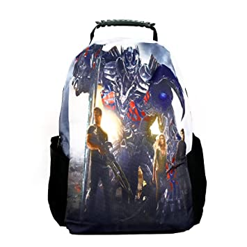 US1984 15 inch Casual Laptop Backpack Bag Printed  Transform Theme  Laptop Backpacks