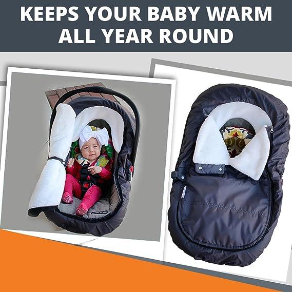 05b71ceda half off 54ff8 1fab3 car seat bunting comfy baby cozy bunting with ...