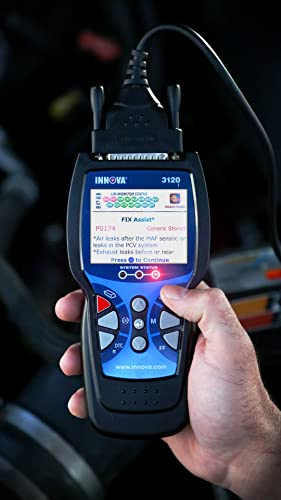 INNOVA 3120 is an OBD scan tool that also has a user-friendly interface