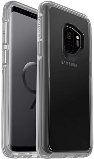 huge selection of f6dda ac44d OtterBox Symmetry Clear Series Case for Samsung Galaxy S9 Plus (ONLY)  Bundled with Alpha Glass Screen Protector