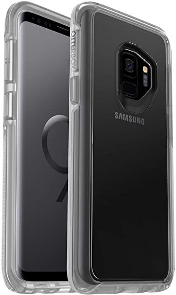 competitive price 08eb6 b7b17 OtterBox Symmetry Clear Series Case for Samsung Galaxy S9 (NOT Plus)  Bundled with Alpha Glass Screen Protector
