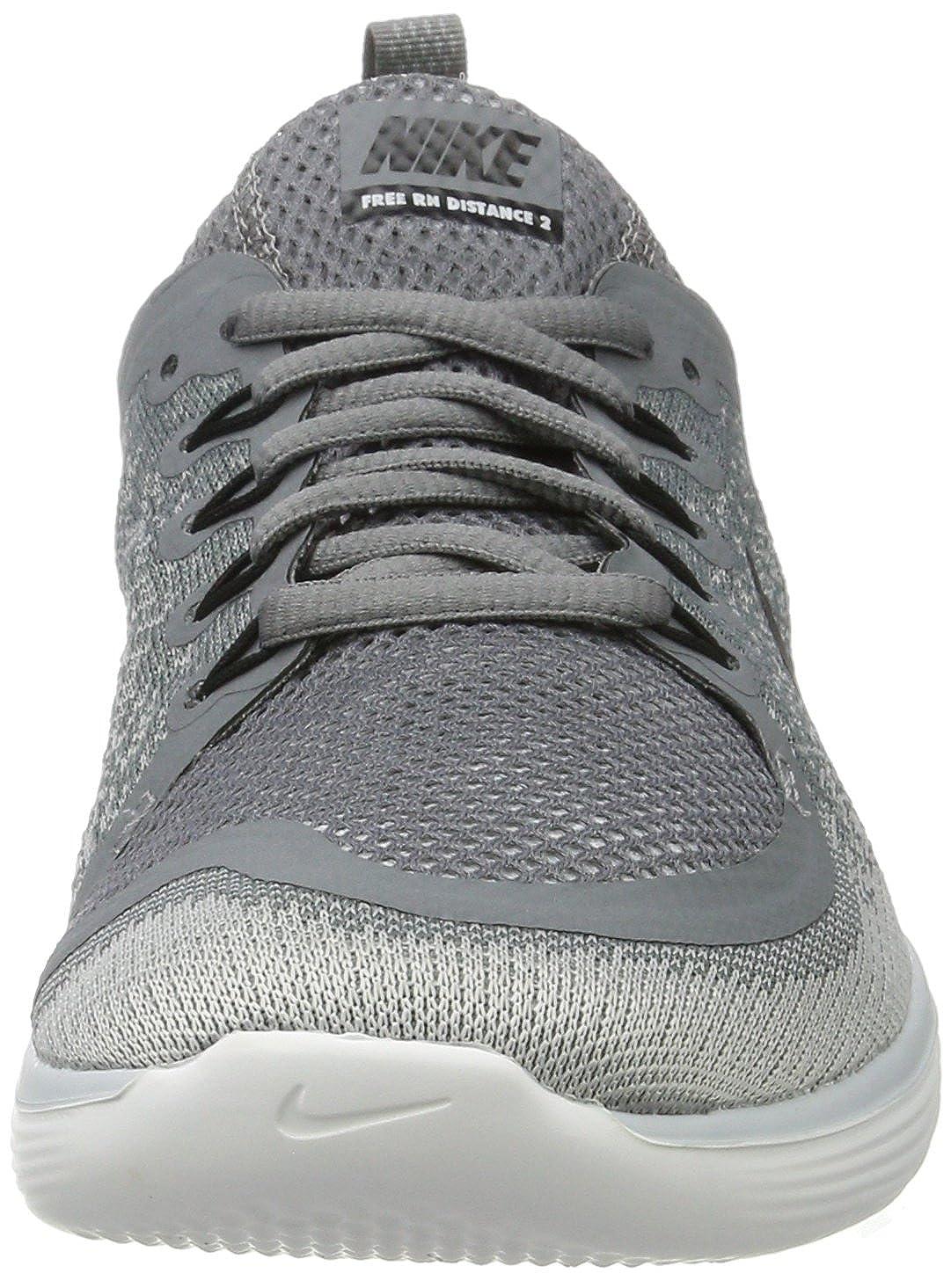 separation shoes eafe3 b21de Amazon.com  NIKE Womens Free RN Distance 2 Cool GreyBlack Wolf Grey Running  Shoe 7.5 Women US  Road Running