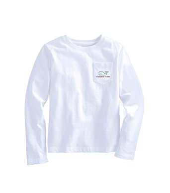 dffb801e Amazon.com: Vineyard Vines Girls Graphic Pocket T Shirt Santa Whale ...
