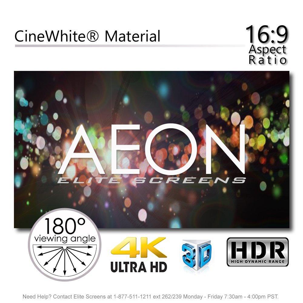 Elite Screens Aeon, AR120WH2 ,120 pulgadas 16:9, Pantalla de ...