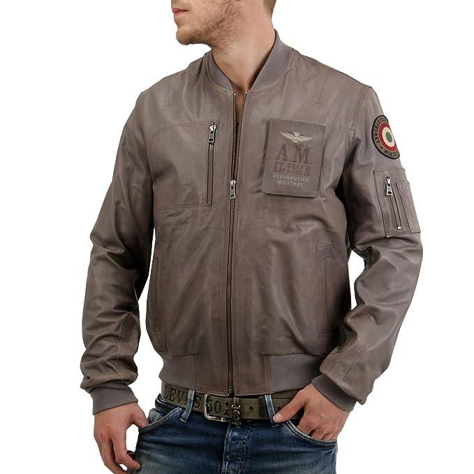 Aeronautica Militare - Chaqueta - para hombre gris medium: Amazon.es: Ropa y accesorios