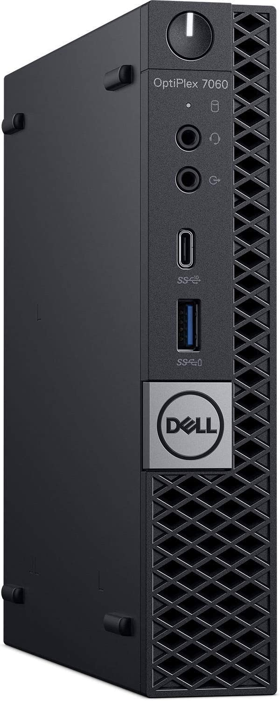 (Newest Model) Dell Optiplex 7060 Micro Factor Desktop Computer Intel Core i5-8600T 16GB DDR4 256 GB SSD Windows 10 Pro (Renewed)