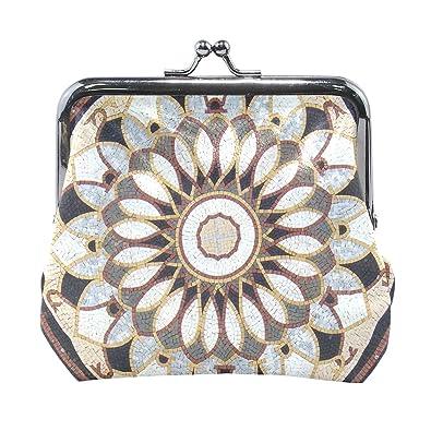 Amazon.com: Art Medallion - Monedero para mujer, diseño ...