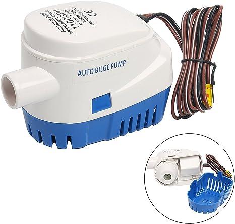 Automatic Boat Camper Bilge Pump Switch Auto Float Switch Mercury Free