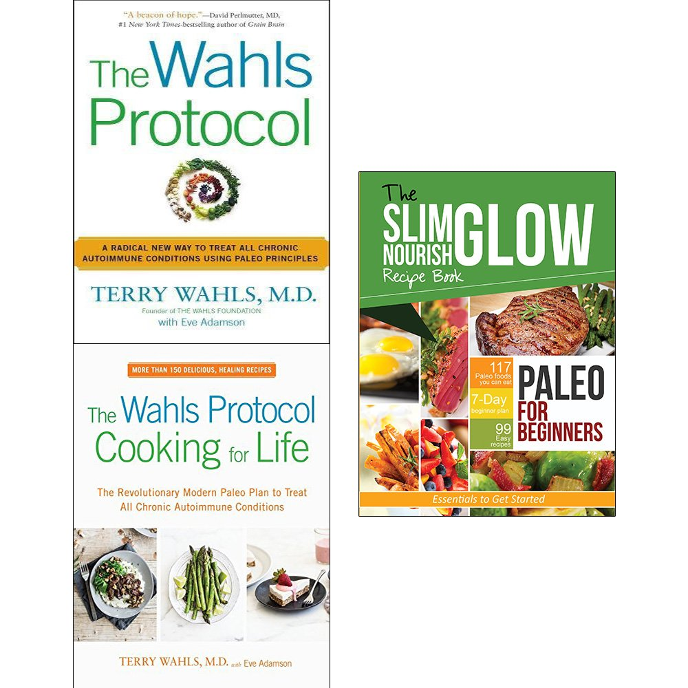 Wahls protocol, cooking for life and paleo for beginners essentials