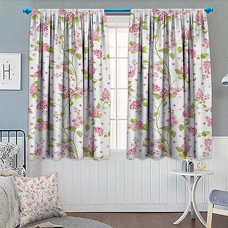 Sensational Amazon Com Anhounine Shabby Chic Blackout Curtain Nature Beutiful Home Inspiration Papxelindsey Bellcom