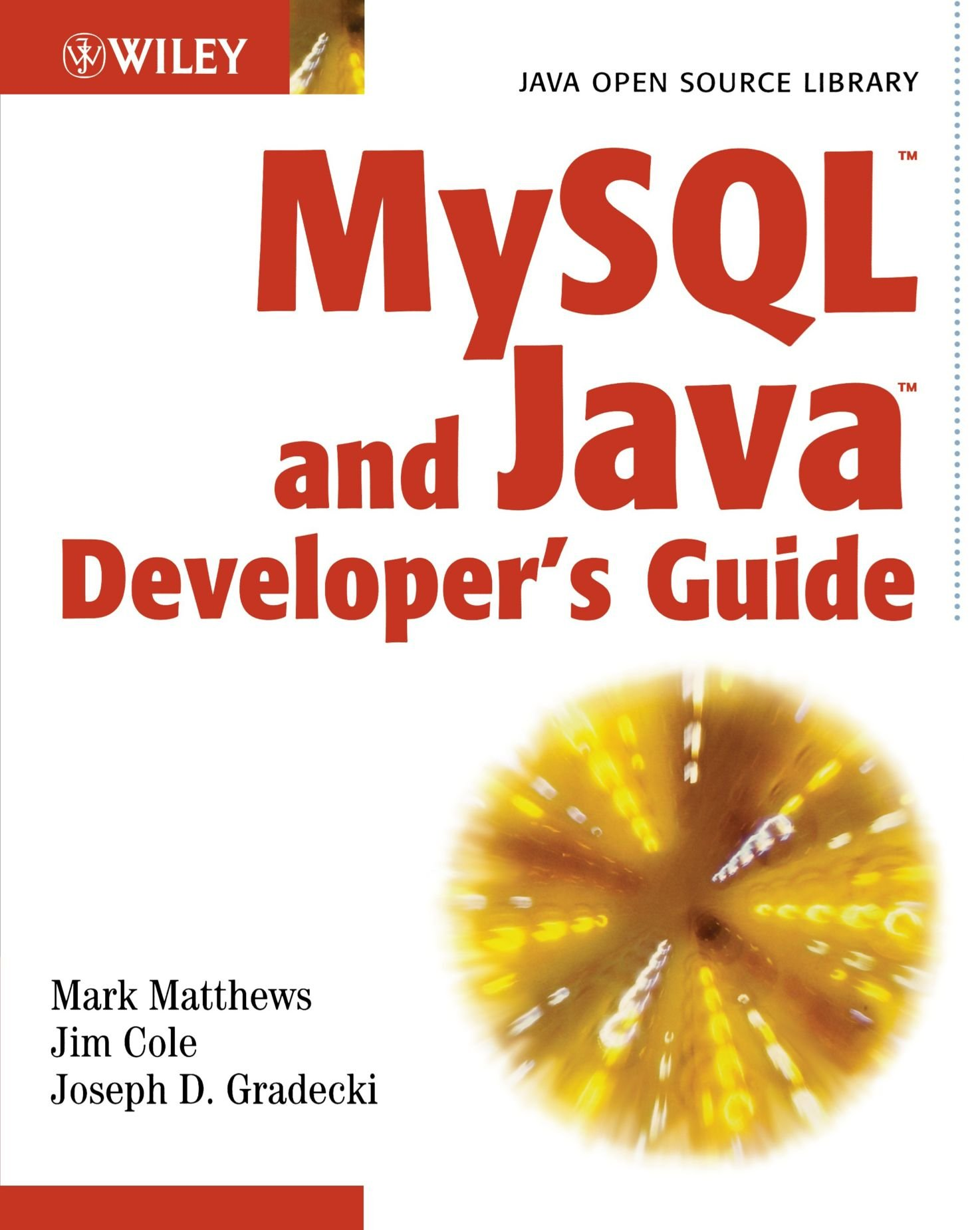MySQL and Java Developer's Guide by Wiley