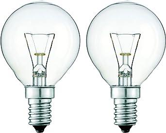 E14 240V ROUND 300DEG OVEN LAMP BULB BOSCH 40W SES