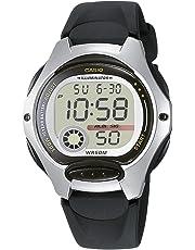 Casio LW-200-1A Black & Silver Classic Women's or Children's 50m Casual Digital Sports Watch