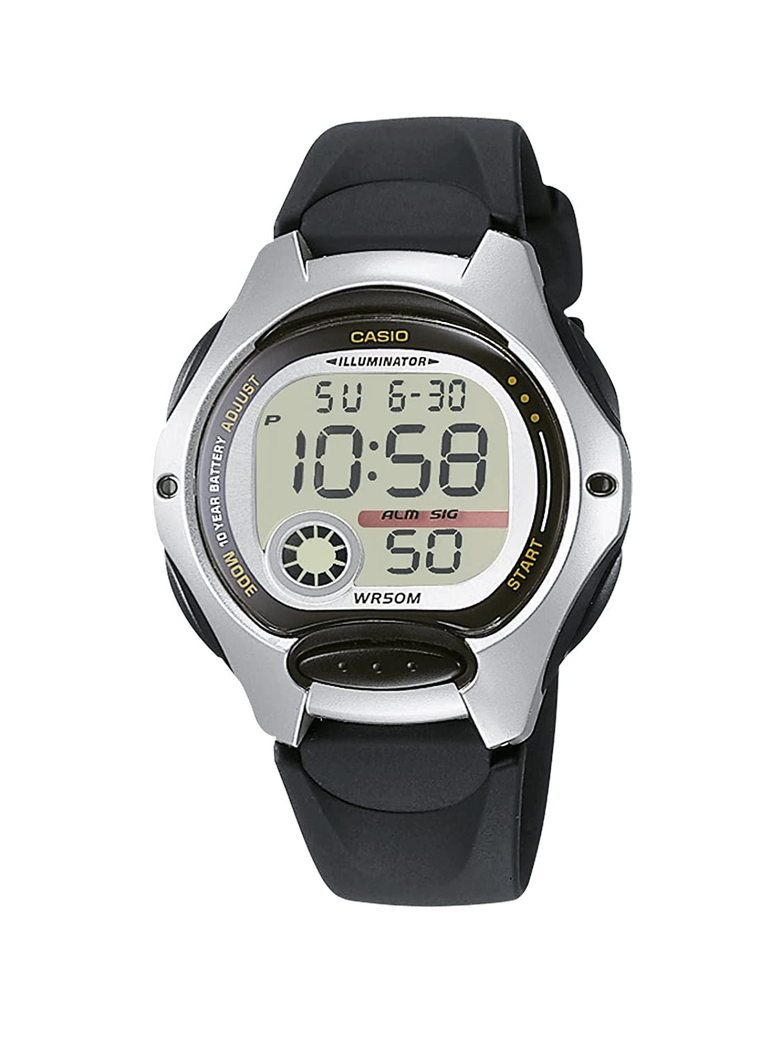 Amazon.com: CASIO - Unisex Watches - CASIO Collection - Ref. LW-200-1AVEF: Watches