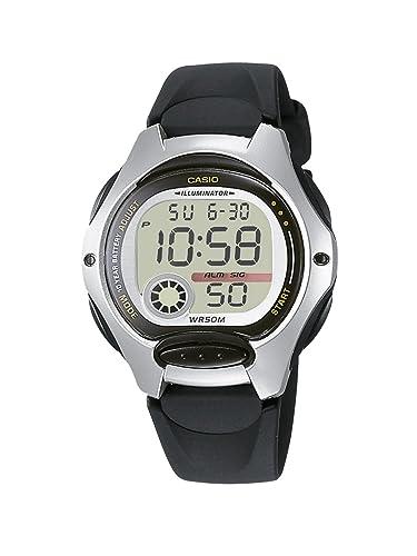 Casio Reloj Digital para Mujer de Cuarzo con Correa en Resina LW-200-1AVEF: Amazon.es: Relojes