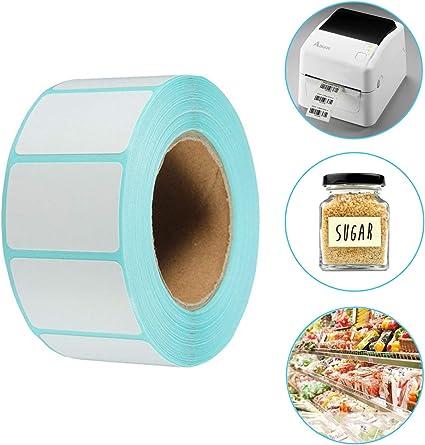 Etiquetas Adhesivas Rollo,AOBETAK 800 PC 60mm * 30mm,Etiquetas ...