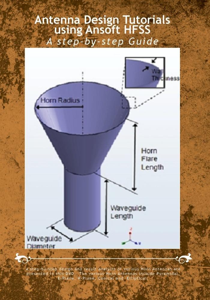 Amazon com: Antenna Design Tutorials using Ansoft HFSS