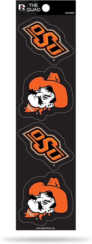 Rico NCAA Oklahoma State Cowboys Quad Decal