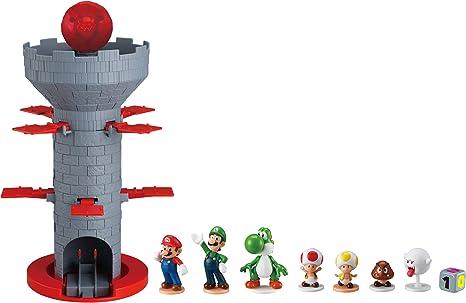 EPOCH Super Mario Blow Up! Shaky Tower: Amazon.es: Juguetes y juegos