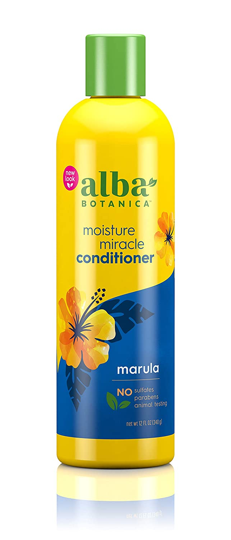 Alba Botanica Hawaiian Marula Miracle Therapy Moisture Conditioner, 12 oz. (Pack of 6)