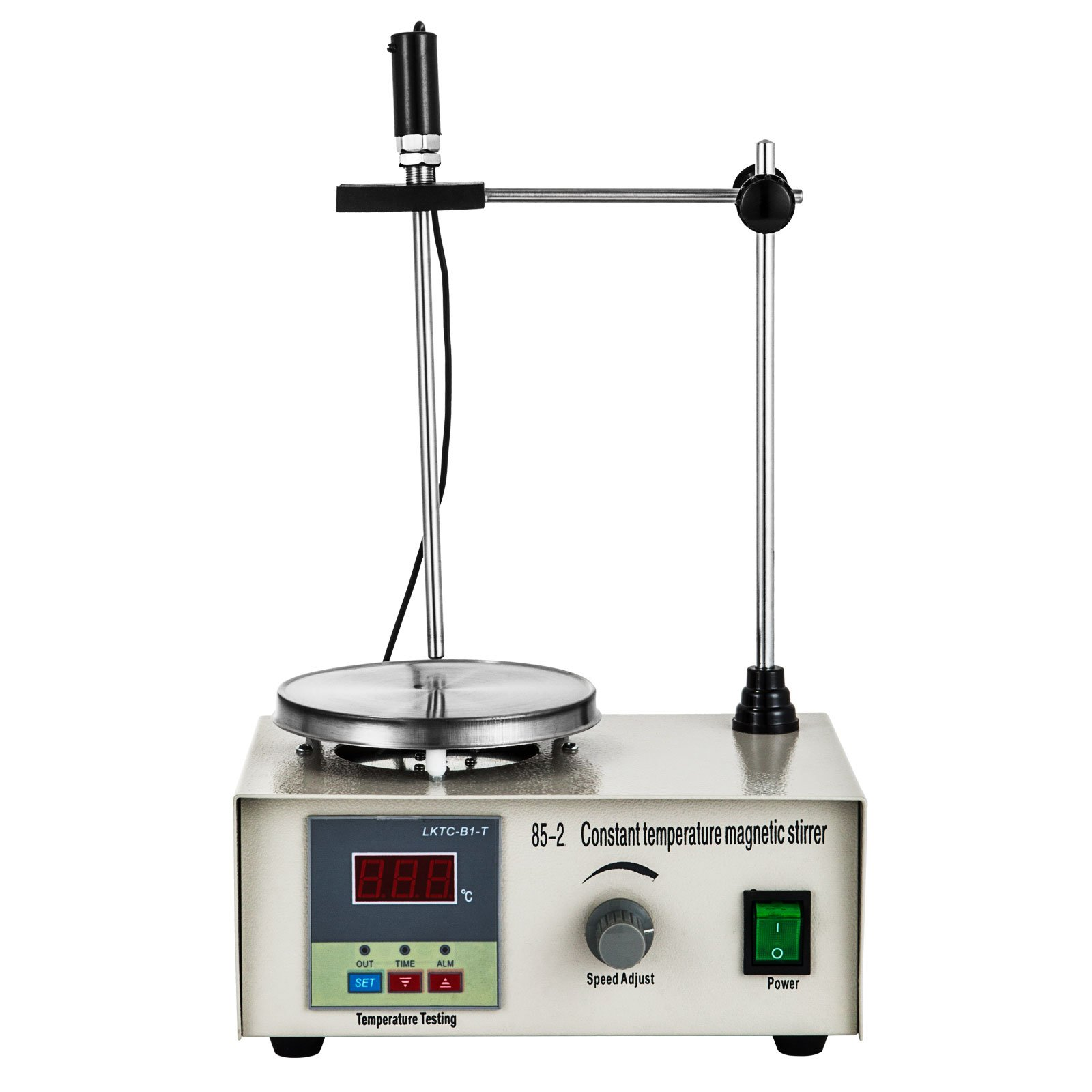 Mophorn Magnetic Stirrer Hotplate 110V Magnetic Stirring Mixer 85-2 Hotplate Magnetic Heating Plate 1000ML