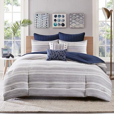 Miller Stripe 3-pc. Comforter Set - JCPenney